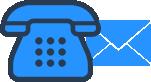 Ligue ou envie um e-mail